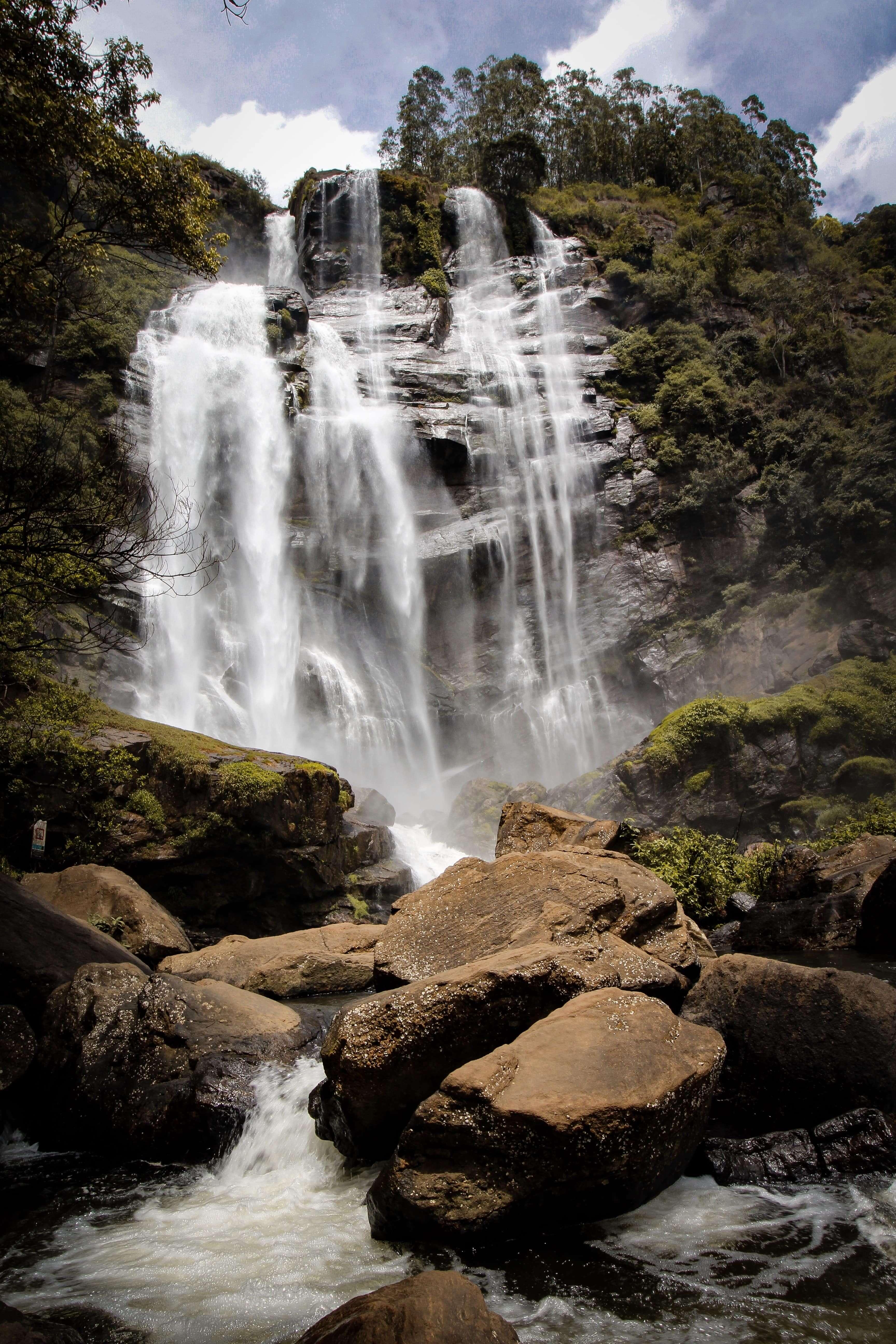Waterfall Nuwara Eliya