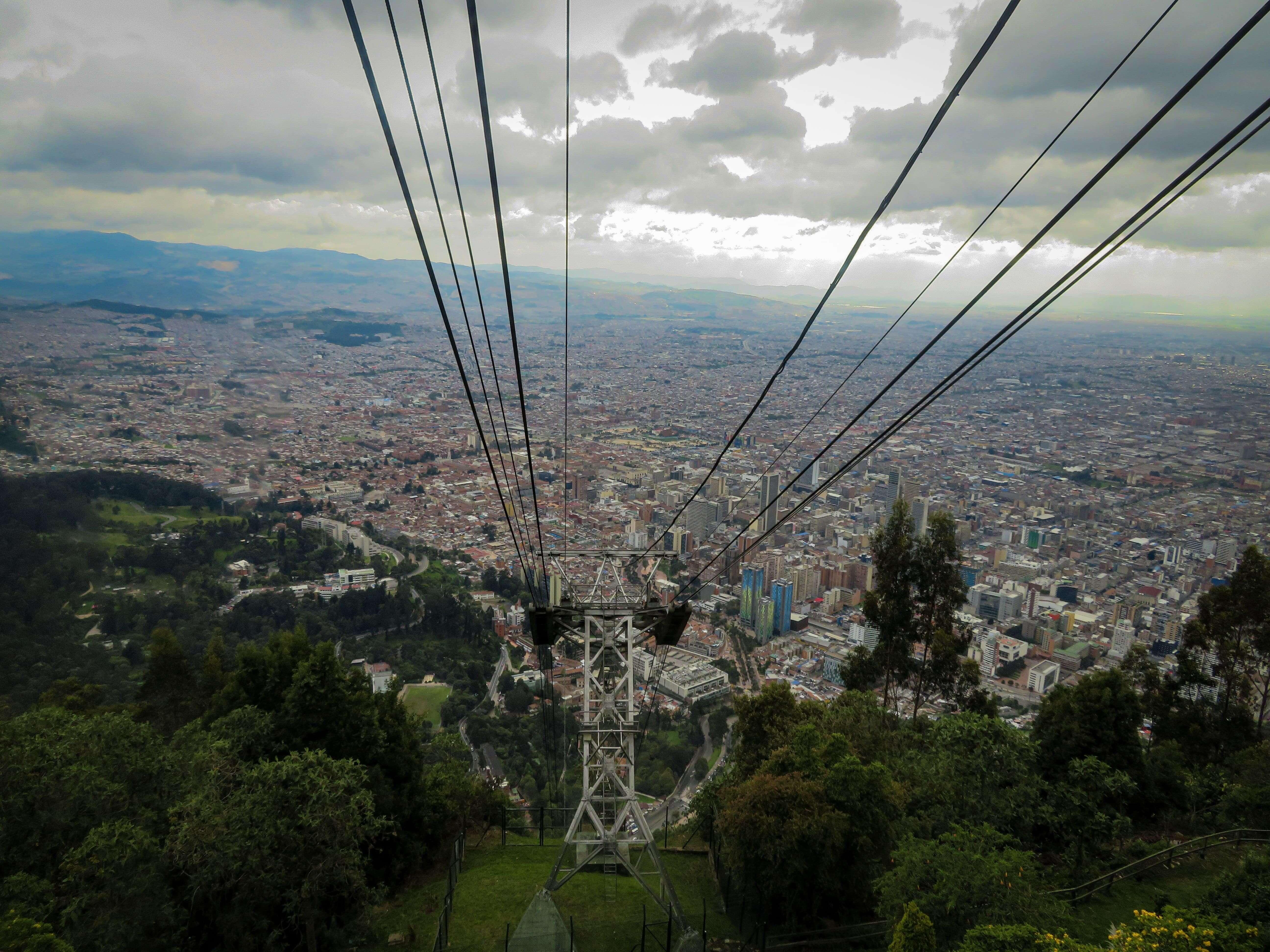 Mount Monserrate bogota travel guide
