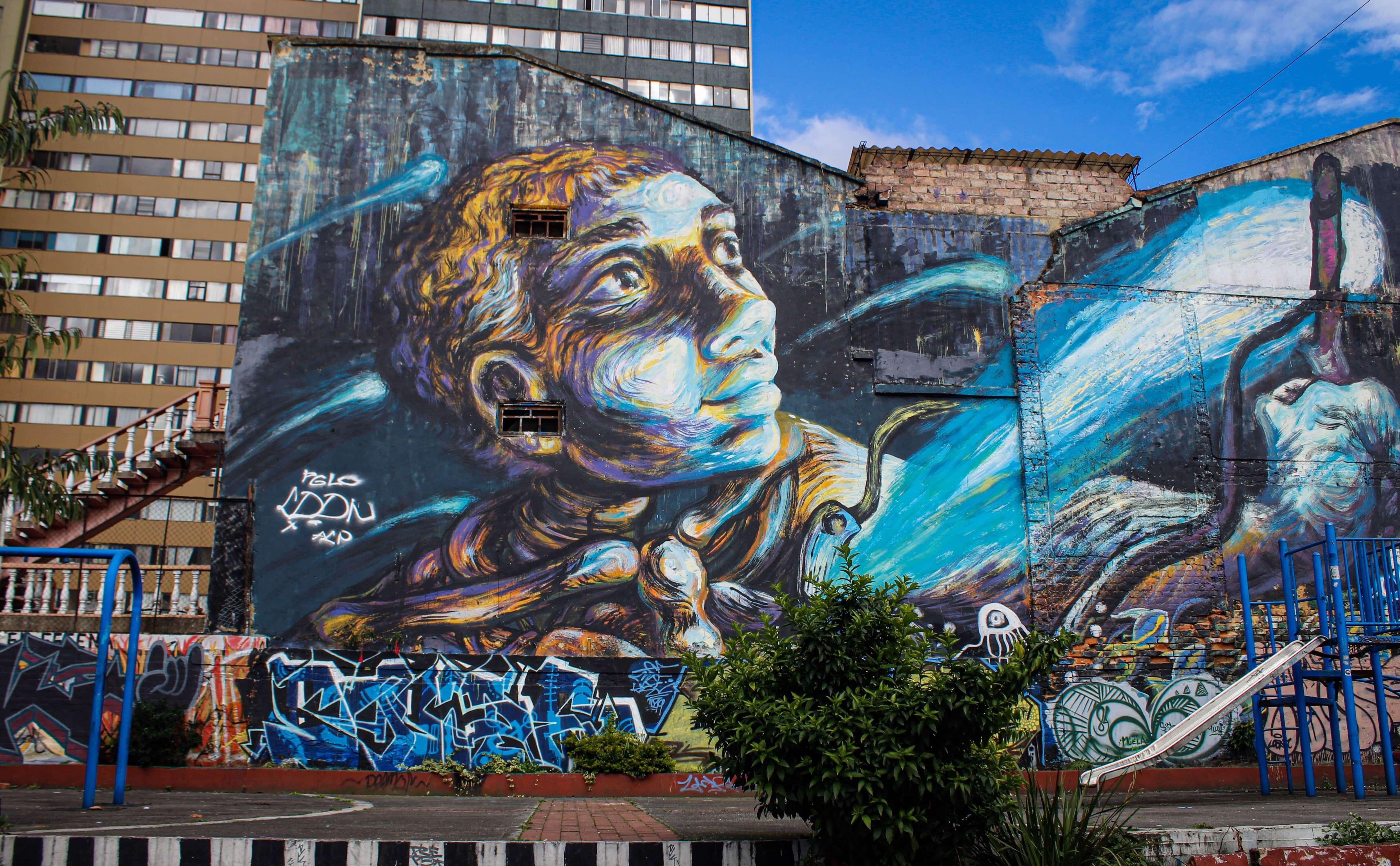 bogota graffiti tour bogota travel guide